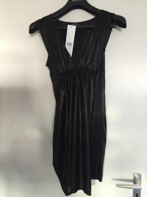 Robe noir-doré