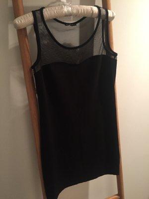Sexy Abendkleid von Terranova, S, schwarz, Netz