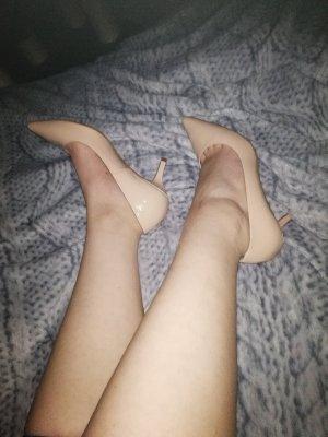 Sexy Absatzschuhe Nude
