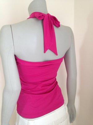 Sexy back! Neuwertig. Mexx Neckholder Top pink Gr. M