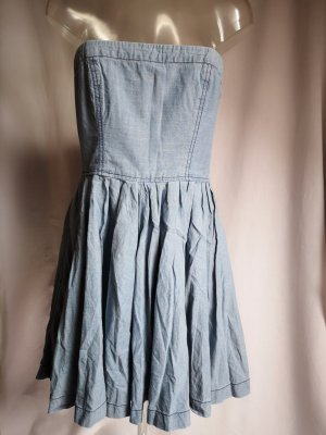 sexy Bandeau Jeans Kleid!