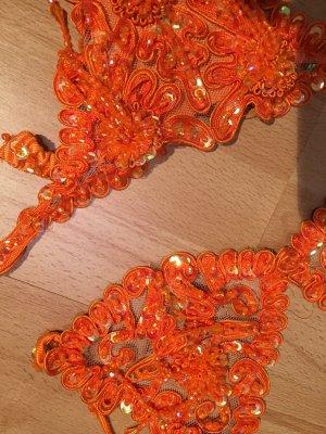 Tankini arancio neon