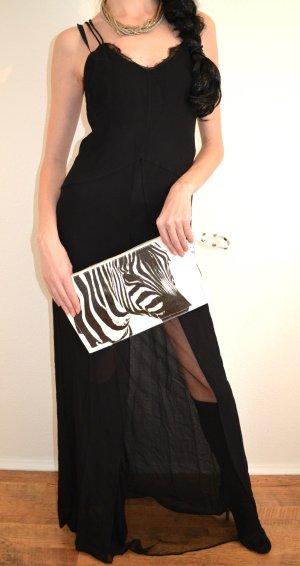 Sexy! Blogger! Hingucker! Damen Kleid Maxikleid Spitze Gr. M, neu Bershka