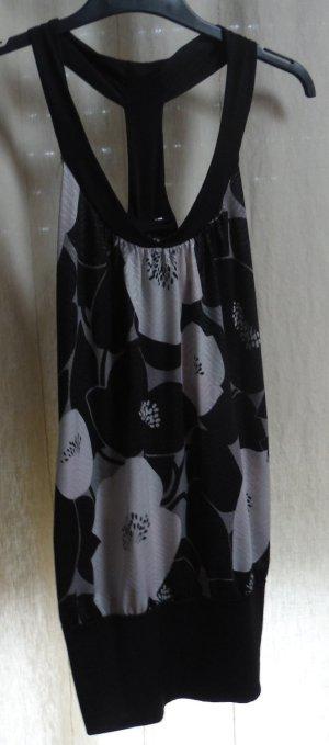 sexy Blumenkleid leicht transparent