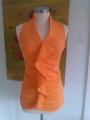 Sexy Bluse in orange!