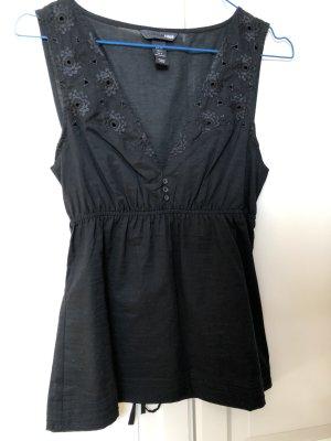 Sexy Bluse in schwarz
