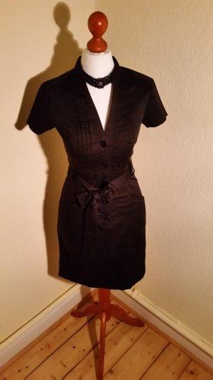 sexy Blusenkleid, Gr.34, H&M, schwarz, LETZTE REDUZIERUNG