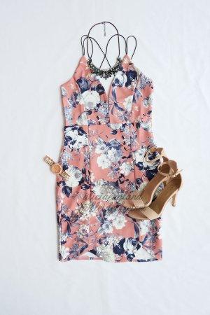 Sexy Bodycon Floral Kleid