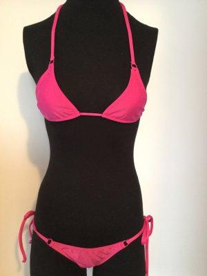 Bikini rouge framboise