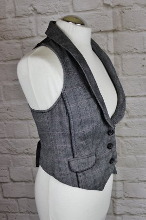 edc by Esprit Biker Vest multicolored cotton