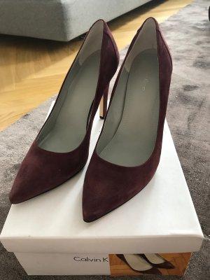 Sexy Calvin Klein High Heels, Wildleder, Gr. 6,5 (US)