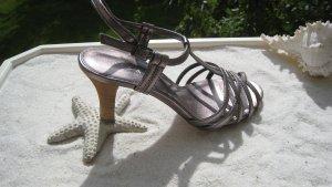 Sexy City Tanzschühchen Platin Bronze Hauch Lavendel Töne Top wie Neu