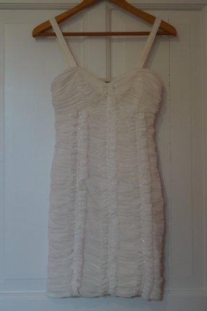 Lipsy Vestido bustier blanco