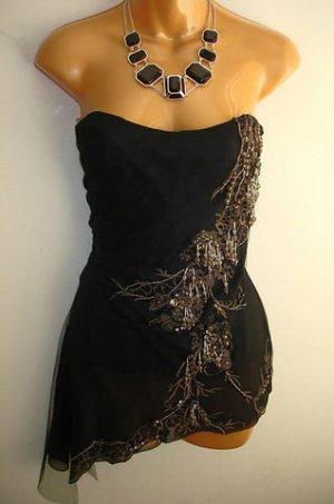 KAREN MILLEN Haut type corsage noir