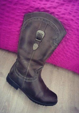 Graceland Western Boots brown-light brown