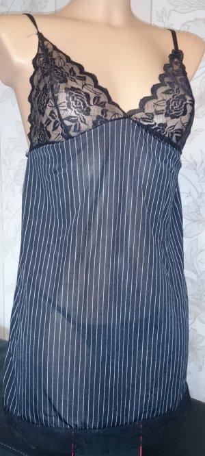 Sexy Damen Lingerie Nachtwäsche Babydoll Spitze Kleid+G-String