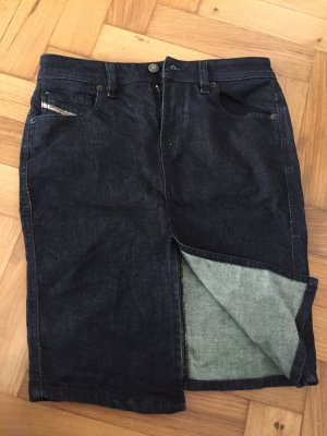 Sexy Diesel Pencil-Skirt in dunklem Jeans, Gr. 29 (36)