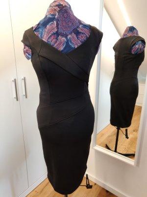 sexy elegantes Etuikleid, schwarz, Gr S, Esprit, 2x getragen