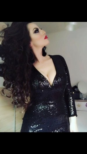 sexy elegantes paillettenminikleid in schwarz