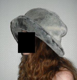 Floppy Hat grey-dark grey