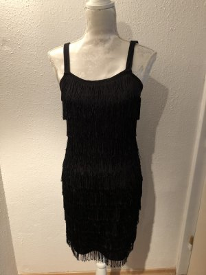Vero Moda Fringed Dress black