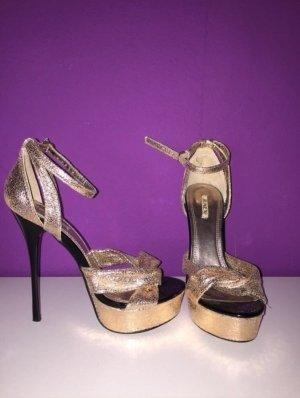 Sexy goldene High Heels von Jumex
