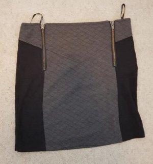 Tally Weijl Minigonna nero-grigio