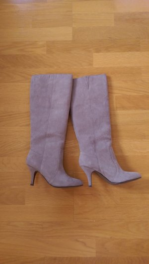 sexy graue Stiefel - Zara