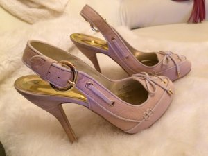 Sexy Guess by Marciano Pumps 38 rosa nude Gold