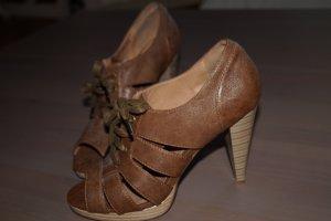 Sexy High-Heel-Schnür-Sandalen