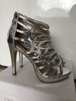 sexy high heels in silber