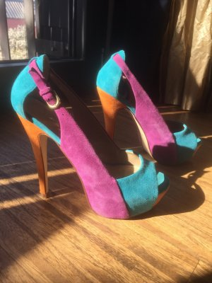 Aldo Peep Toe Pumps multicolored