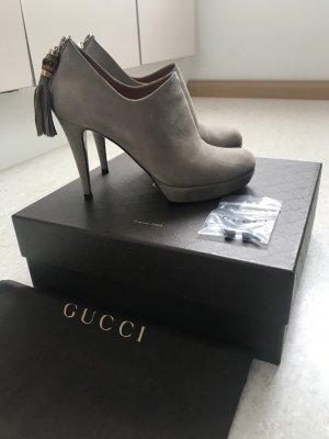 Sexy High Heels von Gucci aus Wildleder mit Stilettoabsatz, NP 675€