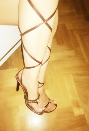 High-Heeled Sandals multicolored