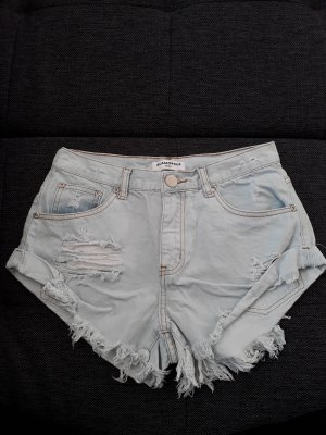 Sexy Highwaist Short Fransen Glamorous Small