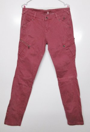 Sexy Hose Freeman t Porter Größe W 29 M 38 Himbeer Rot Skinny Jeans Cargo Pencil Peach light Grenadine
