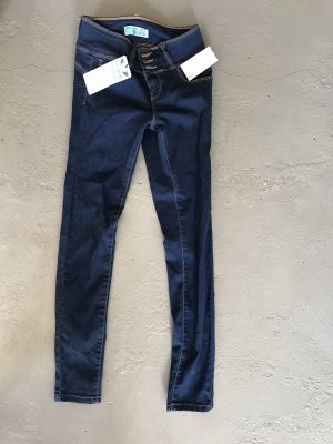Jeans elasticizzati blu scuro
