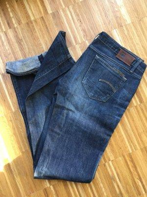 Gstar Jeans taille basse bleu foncé