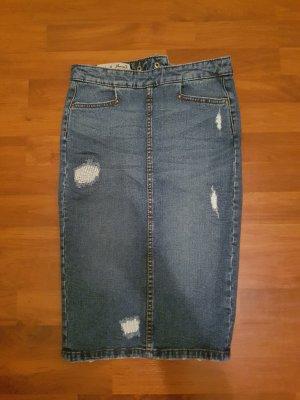 sexy jeans bleistiftrock