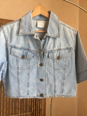Sexy Jeans Hemd/ Bluse/ Jäckchen große 38