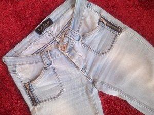 sexy Jeans in hellblau von Olala,Gr.36,eng und sehr dehnbar