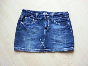 Sexy Jeans-Minirock, dunkelblau, Größe S