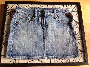 Sexy Jeans-Minirock in Größe 34/36