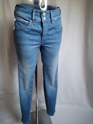 Salsa Jeans Vaquero de talle alto azul celeste