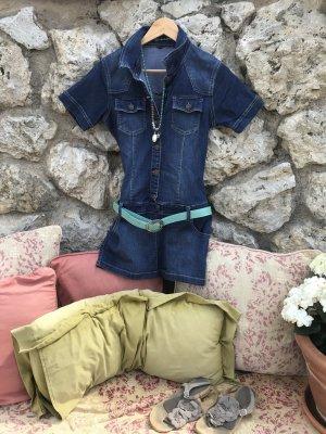 Sexy Jeanskleid mit Gürtelschlaufen