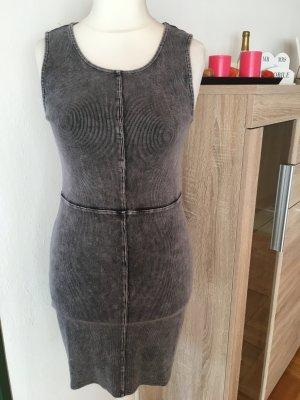 Sexy Kleid Minikleid eng grau anthrazit Gr. M NEU mit Etikett