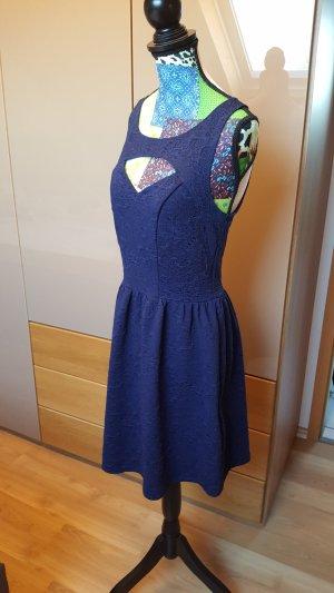Amisu Vestido cut out multicolor