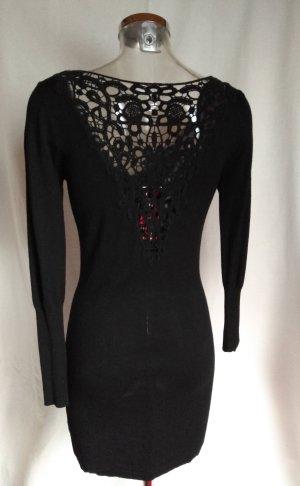sexy Kleid mit tiefem Ausschnitt Spitze