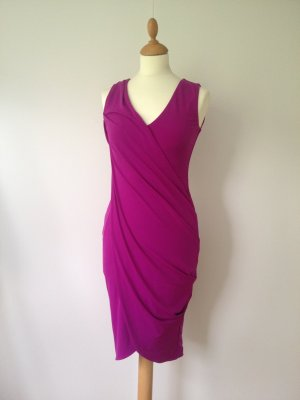 Sexy Kleid Raffung und Wickeloptik