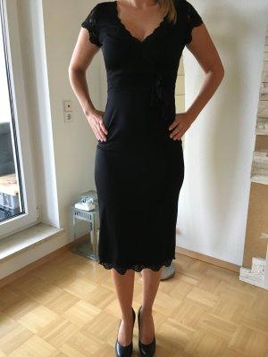 Sexy Kleid Spitze Laura Scott schwarz